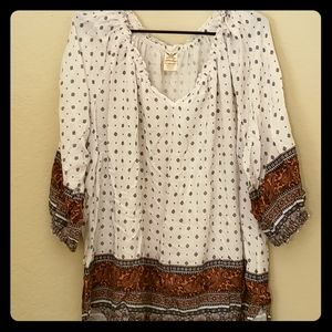 Faded Glory Peasant Top - 3